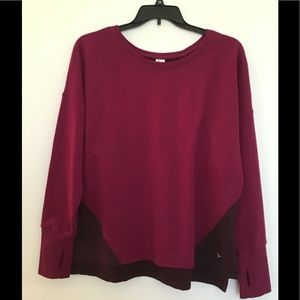 Old Navy Burgundy Sweatshirt